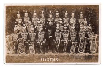 1914 Fodens in Prussian uniform